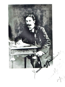 A signed portrait from 1916